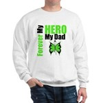 Lymphoma Hero Dad Sweatshirt