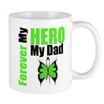 Lymphoma Hero Dad Mug