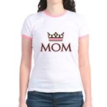 Queen Mom Jr. Ringer T-Shirt