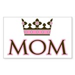 Queen Mom Rectangle Sticker 10 pk)