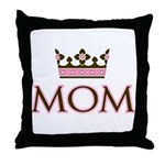 Queen Mom Throw Pillow