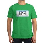 Montana NDN Pride Men's Fitted T-Shirt (dark)