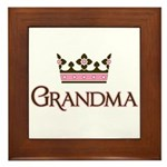 Queen Grandma Framed Tile