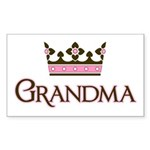 Queen Grandma Rectangle Sticker