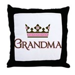Queen Grandma Throw Pillow