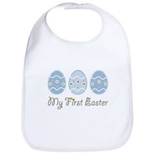 My First Easter Eggs Bib
