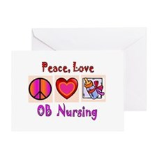 OB Nurse Greeting Card