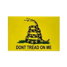 Gadsden: Don't Tread On Me Rectangle Magnet