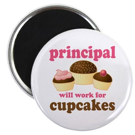 Funny Principal Magnet