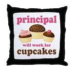 Funny Principal Throw Pillow