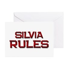 silvia rules Greeting Cards (Pk of 10)