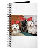Credible Critter Westie & Scottie ChristmasJournal
