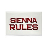 sienna rules Rectangle Magnet (10 pack)