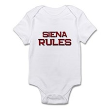 siena rules Infant Bodysuit