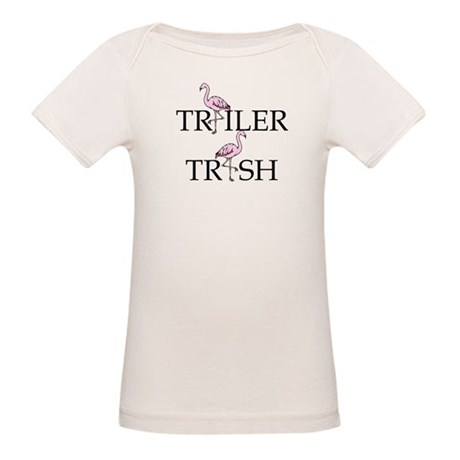 Trailer Trash Organic Baby T-Shirt