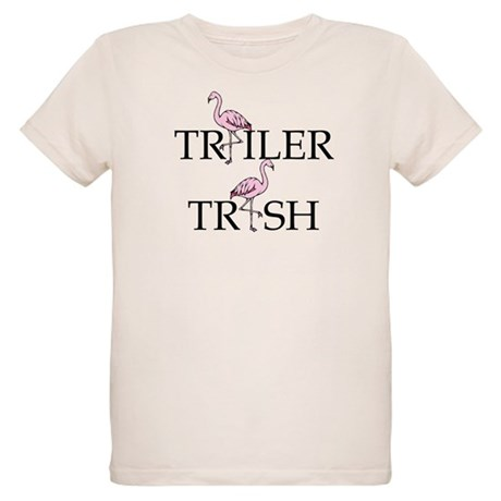 Trailer Trash Organic Kids T-Shirt