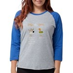 Rubber duck toy Organic Women's Fitted T-Shirt
