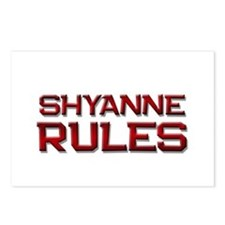 shyanne rules Postcards (Package of 8)