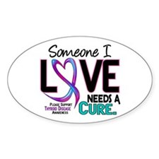Needs A Cure 2 THYROID DISEASE Decal