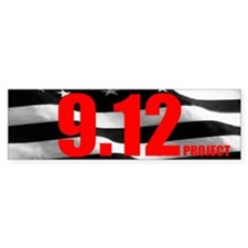 """The 9.12 Project"" Bumper Sticker (50 pk)"