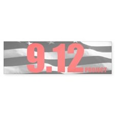 """The 9.12 Project"" Bumper Bumper Sticker"