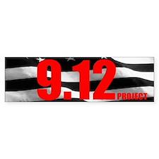 """""""The 9.12 Project"""" Bumper Bumper Sticker"""