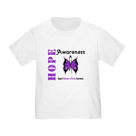 Alzheimer'sDisease Butterfly Toddler T-Shir
