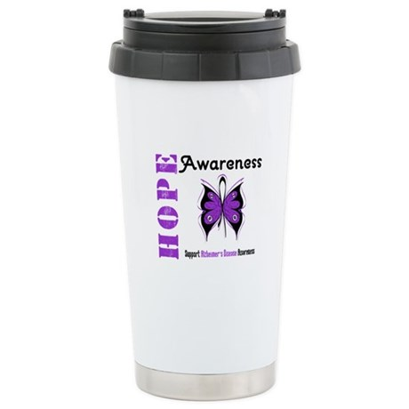 Alzheimer'sDisease Butterfly Ceramic Travel Mug