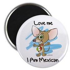 Cute Chicano art Magnet