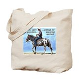 Appaloosa Mule Tote Bag