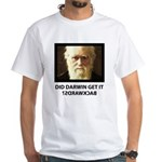 ID Darwin Backwards White T-Shirt
