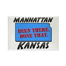 manhattan kansas - been there, done that Rectangle