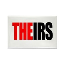 Theirs, The IRS Rectangle Magnet