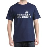 Cops Love a Big Bust T-Shirt