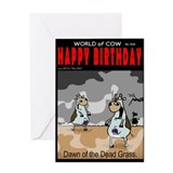 Dawn of the Dried Grass Greeting Card