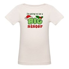 Big Sister to be - Christmas Tee