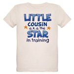 Little Cousin - Star (Blue) Organic Kids T-Shirt
