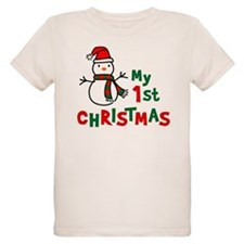 My 1st Christmas - Snowman T-Shirt