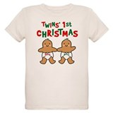 Twins' 1st Christmas T-Shirt