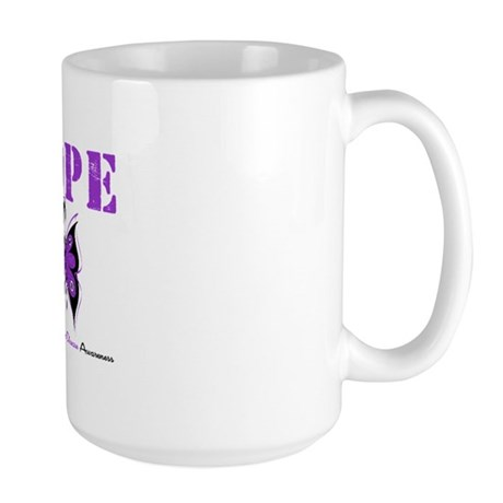 Alzheimer's Hope Large Mug