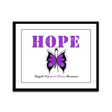 Alzheimer's Hope Framed Panel Print