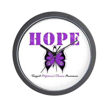 Alzheimer's Hope Wall Clock