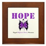 Alzheimer's Hope Framed Tile