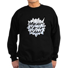 'Evil Laugh' Sweatshirt (dark)