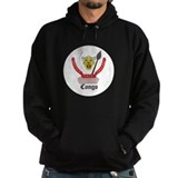 Congolese Coat of Arms Seal Hoodie