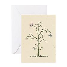 Flowering Tree Greeting Card