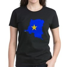 Congo Flag Map Tee