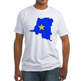 Congo Flag Map Shirt