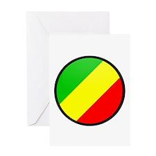 CONGO BRAZZAVILLE Greeting Card