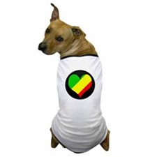 I love CONGO BRAZZAVILLE Fla Dog T-Shirt